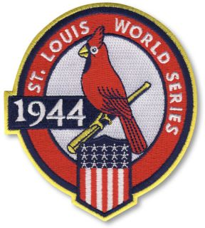 1944 St Louis Cardinals World Series Patch Jersey Emblem 5th Champions