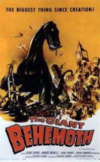 Reptilicus 1961 Dinosaurus 1960 The Giant Behemoth 1959 DVD Set
