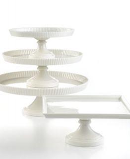 Godinger Black And White Domed Cake Stand