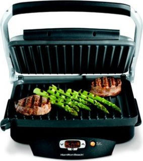 Indoor Electric Grill, Hamilton Beach Steak Lovers Countertop Cooker