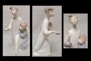 Beautiful Large Group of Lladro Porcelain Figures Spanish