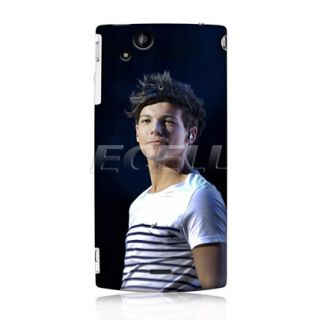 Louis Tomlinson One Direction 1D Case Cover for Sony Ericsson Xperia