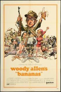 Bananas 1971 Original U s One Sheet Movie Poster