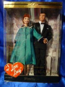 Barbie doll I Love Lucy 50th Anniversary Episode 50 # 28553 Ricky