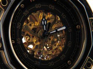 Lord Harris Mens Black Stainless Steel Ceramtic Watch CN307069