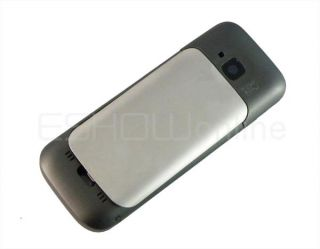 New Gray Full Housing Cover + Keypad for Nokia C5 C5 00 To Replace