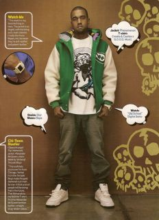 Kanye West Phenomenon Stadium Jacket M BBC bape Supreme Crooks