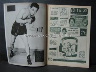 Jose Luis Lopez Photocover Mexican Boxing Magazine 1969