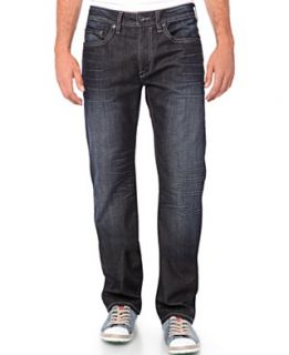 Levis Big and Tall Jeans, 550 Relaxed Straight, Dark Stonewash