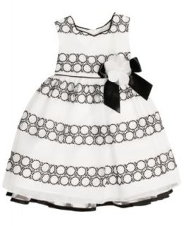 Nannette Kids Dress, Little Girls Striped Dress   Kids