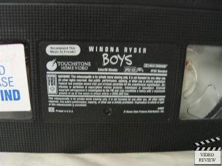 Boys VHS Winona Ryder Lukas Haas Skeet Ulrich 786936595130
