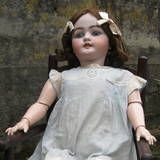 Simon Halbig Antique Doll German Bisque Composition Original Clothes