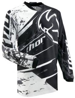 2013 Thor Phase Splatter Youth Jersey Black XXS XL
