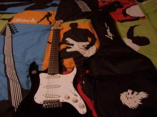 Lyon Solid Body Beginner Electric Guitar by Washburn