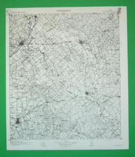 San Marcos Texas Civil War Sites 1906 Topo Map