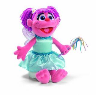 Gund Sesame Street Plush Fluttering Abby Cadabby New