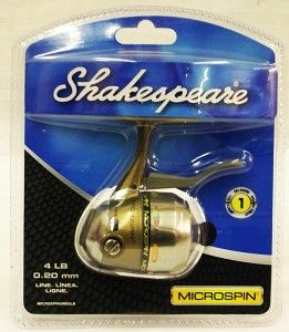 Shakespeare Microspin Spinning Fishing Reel New