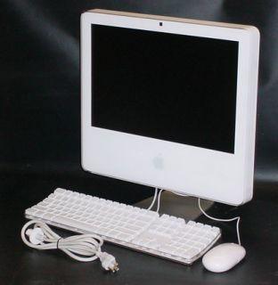 Apple iMac 17 Intel Core Duo 1 83GHz 2GB RAM 80GB HD CD RW DVD Combo