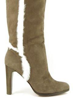 Luxury Rebel Velma Moka Womens Designer Shoes Heel Over The Knee Boots