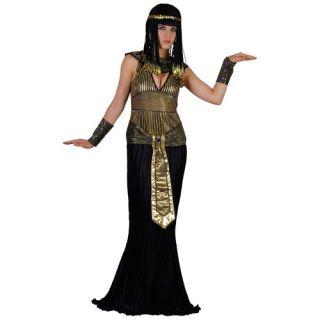 EGYPTIAN QUEEN CLEOPATRA LADIES FANCY DRESS COSTUME XS S M L XL £21