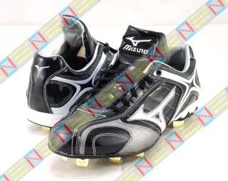 Mizuno Baseball Cleats Shoe Size 8 12 US  Black