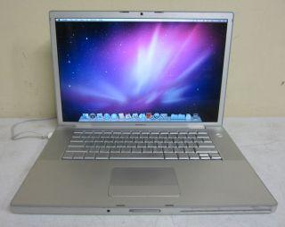 Apple MacBook Pro 15 Core 2 Duo T7500 2 2GHz 2GB 160GB OS 10 6 Laptop