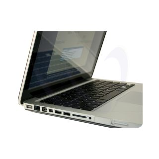 Clear Crystal MacBook Pro 13 Case Cover Keyboard Skin Screen Protector