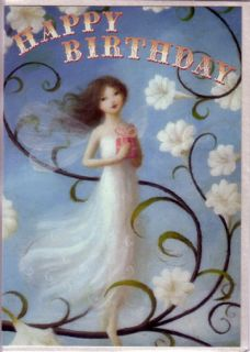 Fairy Birthday Cards by Stephen Mackey Set of 2 Cards Morning Glory