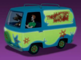 Scooby Doo Mystery Machine Snap Model Kit Glow New
