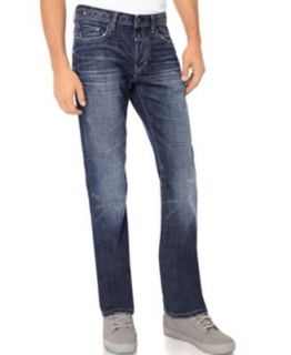 Buffalo David Bitton Jeans Six, Straight Leg Fit   Mens Jeans