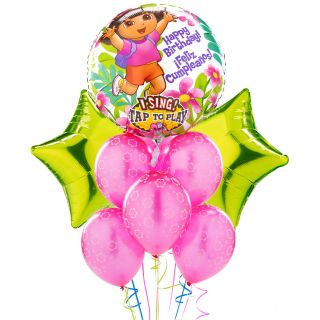 Dora The Explorer Singing Balloon Bouquet Set