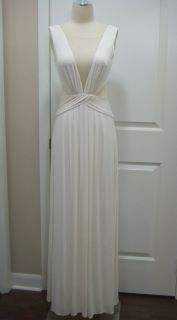 BCBG Max Azria Magdalena Draped Jersey Evening Gown