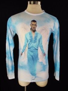 Scott ObyO Angel LS Tee Large L Tshirt Wings Made in Heaven
