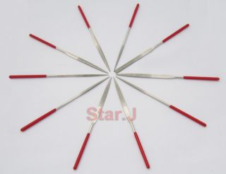 Diamond Mini Needle File Set Metal Glass Stone Chisel Sharp