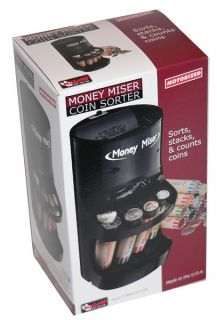 Money Miser Coin Sorter Bank New in Box Free Wrappers