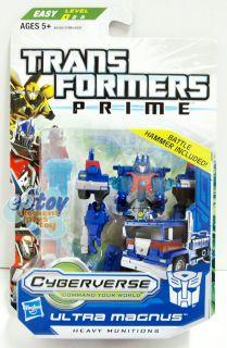 Prime Cyberverse Commander Class Ultra Magnus Action Figure