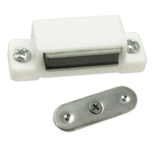 6pc Magnetic Door Catch Latch Set Cabinets Cupboards