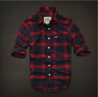Hollister by Abercrombie Fitch Button Up Plaid Shirts