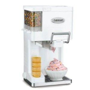 Cuisinart 1 1 2 Quart Homemade Ice Cream Maker Machine New Free