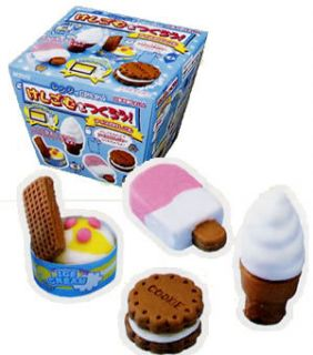 Kutsuwa Ice Cream Eraser Making Kit from Japan DIY Educational Toy for