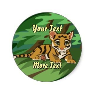 Tiger Cub Stickers
