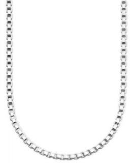 Giani Bernini Sterling Silver Necklace, 18 24 Dot Dash Chain