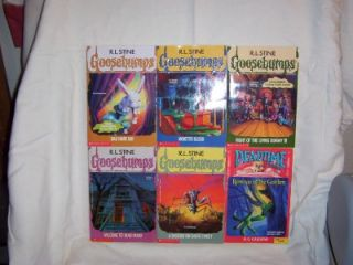 19 Goosebumps Pbks by R L Stine Deadtime Stories Scared Stiff Wayside
