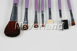 Cosmetic Makeup Brushes Supply Purple Makeup Brush Set Kit