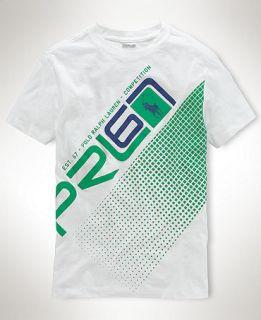 Ralph Lauren Kids Shirt, Boys Graphic Tee   Kids Boys 8 20