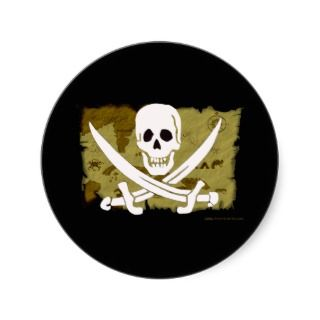 Jolly Roger Map #10 Sticker
