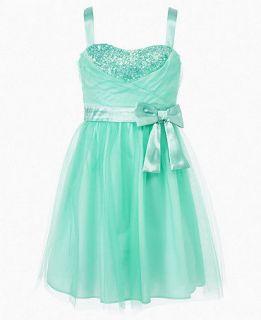 Ruby Rox Girls Dress, Girls Tulle Sequin Dress   Kids