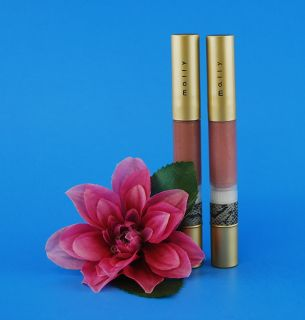 Mally Beauty High Shine Liquid Lipstick Duo (2)   .12 oz ea. (NEW)