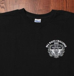 Dea Maltz Challenge 2012 3rd Special Forces Group T Shirt Black Large