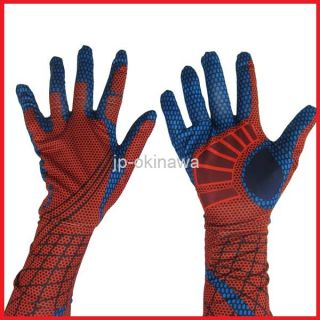 The Amazing Spider Man Spider Man Spandex Flexible Party Full Costume